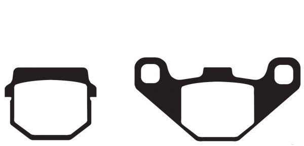 Bremsbeläge, Bremsklötze EBC Typ FA083TT Standard (116077)