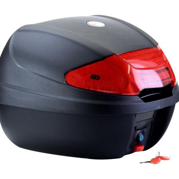 CMX TopCase Motorradkoffer mit extragroßem Reflektor - 38 Liter (165216)