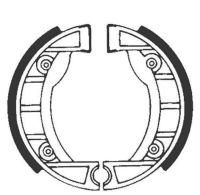 Bremsbacken für Trommelbremse EBC mit Federn Typ 909 (681122)