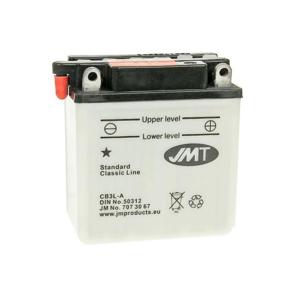Batterie YB3L-B 12V 3AH JMT (104886)
