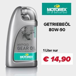 Motorex Getriebeöl 80W-90 - High Performance Getriebeöl für Motorräder