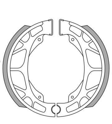 Bremsbacken NewFren Typ GF.0255 für 4 Takt China Roller (800255)