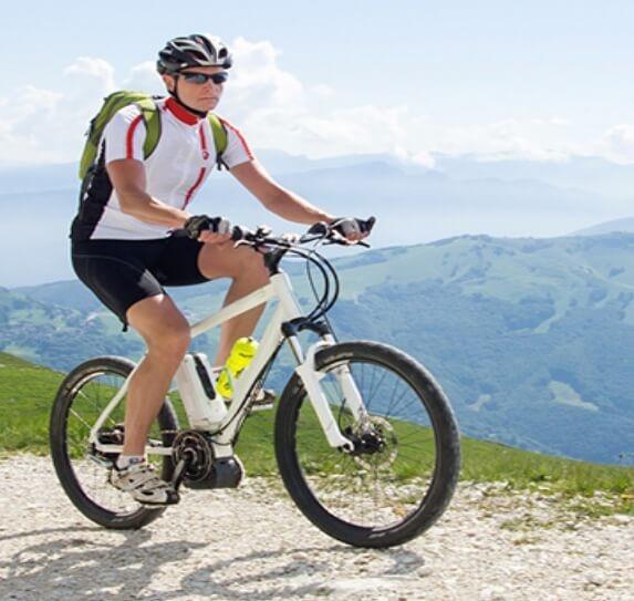 Mountainbike mit Akku
