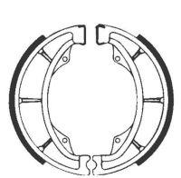 Bremsbacken für Trommelbremse EBC mit Federn Typ S602G Grooved (681011)