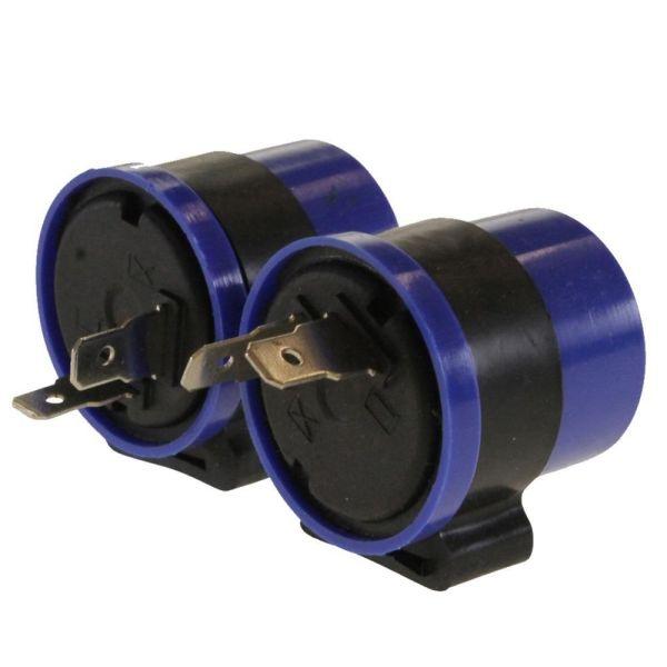 2x Blinker Relais, Blinkerrelais MBK Booster, Yamaha BWS 50 (164851)