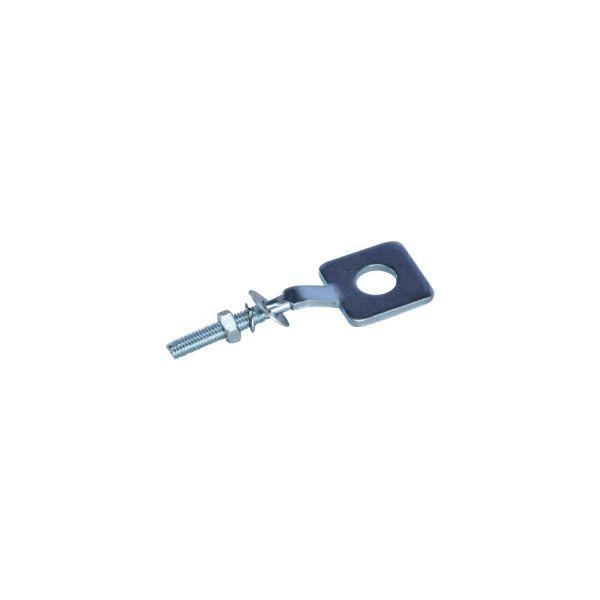Kettenspanner mit rundem Loch für Zündapp KS 50, GTS 50, C 50, R 50 (517-15.623)