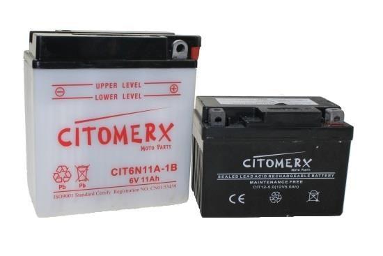 Batterie 6YB8L-B 6V 8AH JMT für Roller (104925)