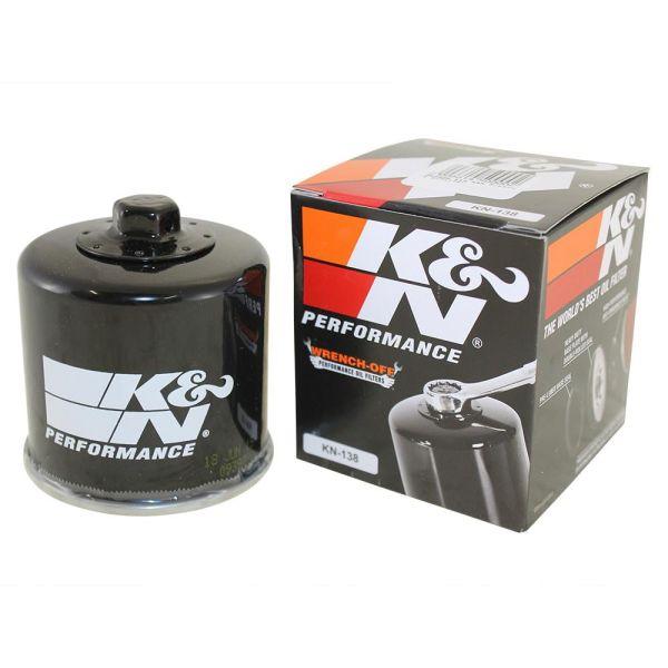 /Ölfilter K/&N KN138 f/ür Aprilia Tuono 1000 V4 R APRC ABS