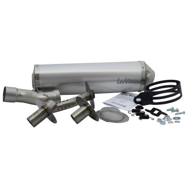Auspuff LeoVince X3 SLIP ON Aluminium für KTM LC4-E 640 (139164795)
