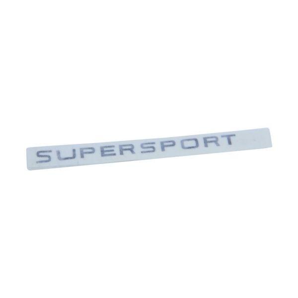 """Aufkleber Tank """"Super Sport"""" schwarz für Zündapp KS 50 Super Sport (517-20.114-schwarz)"""