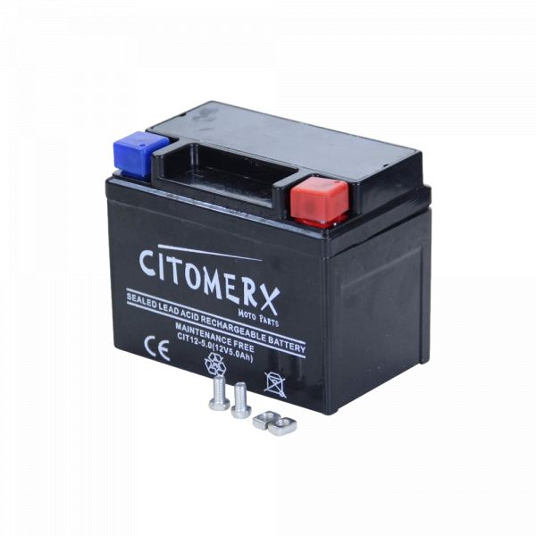 Rollerbatterie Roller-Batterie 12V 5AH für REX RS 250 450 460 500 600 700 750 900 (1275401)