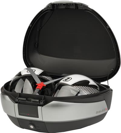 topcase transportbox shad sh48 48l mit blende schwarz. Black Bedroom Furniture Sets. Home Design Ideas