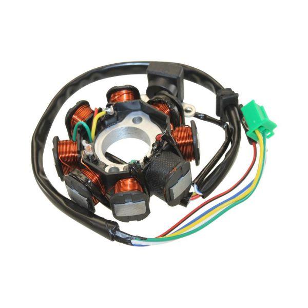 Zündspule 4T Roller GY6 QMA QMB für Rex Monaco 50 4T Bj 11-14
