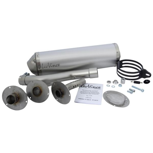 LeoVince Schalldämpfer Auspuff X3 SLIP-ON Aluminium Typ 5123E