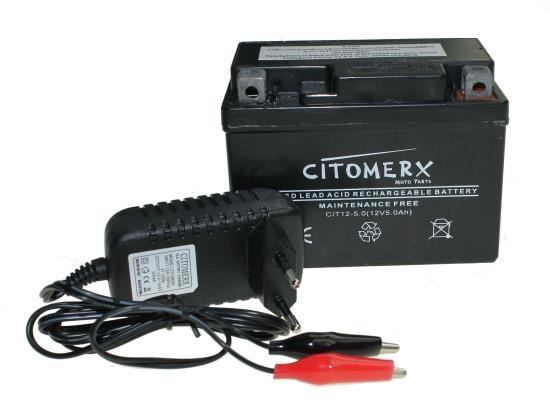 rollerbatterie 12v 5ah batterie ladeger t ci500 f r rex rs 250 450 460 500 600 ebay. Black Bedroom Furniture Sets. Home Design Ideas