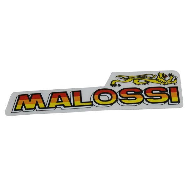 "Aufkleber ""Powered by Malossi"" Größe: L 85mm, B 20mm 1 Stück (161366)"
