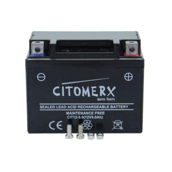 Batterie YB4L-B 12V 4AH für Roller/ Motorrad inkl. Säure DIN: 50411 (SW15001)