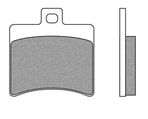 Bremsbeläge NewFren Typ FD.0267 (1 Satz a 2 Stück) (700267)