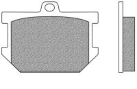 Bremsbeläge vorne Typ FD.0017 für Yamaha KJ 650, SR 400, SR 500, XJ 650, XS 250, XS 360, XS 400 C, 6 (700017)