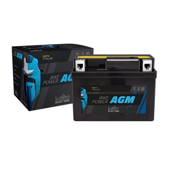 Intact Bike Power AGM Motorradbatterie 12V/21 AH  Typ YTX50-BS (85000)