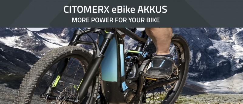 Citomerx eBike Akkus - More power for your bike! Effizient & Ausdauernd