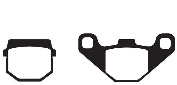 Bremsbeläge, Bremsklötze EBC Typ FA083R Sintermetall (680724)
