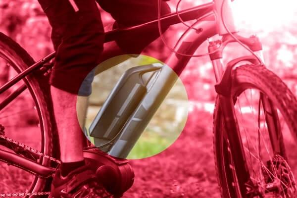 E-Bike mit Rahmen-Akku