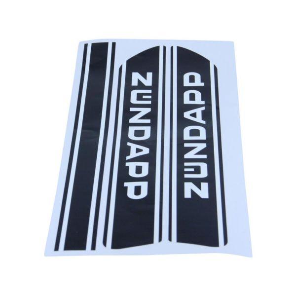 Tankaufkleber Emblem Satz für Zündapp Baujahr 77-78 (529-20.114)