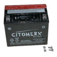 Citomerx Batterie wartungsfrei YTX12-BS 12V 10AH für Roller/ Motorrad inkl. Säure DIN:...