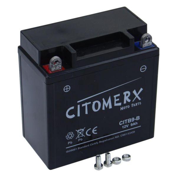 Batterie YB9-B 12V/9AH für Roller Motorrad (160876)