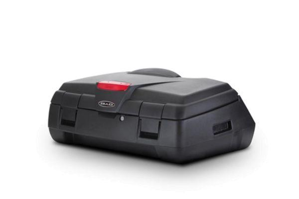 Topcase, Transportbox SHAD ATV80 für Quad, ATV hinten absperrbar schwarz (161701)