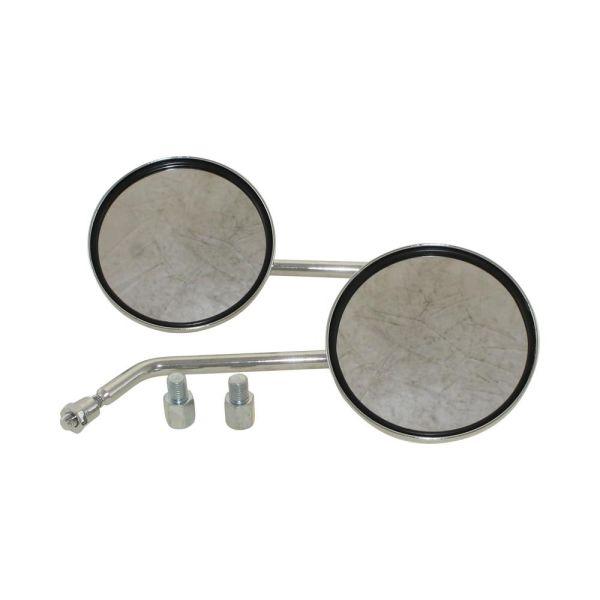 spiegel set 2 105mm chrom variante 2 f r simson s 50 51. Black Bedroom Furniture Sets. Home Design Ideas