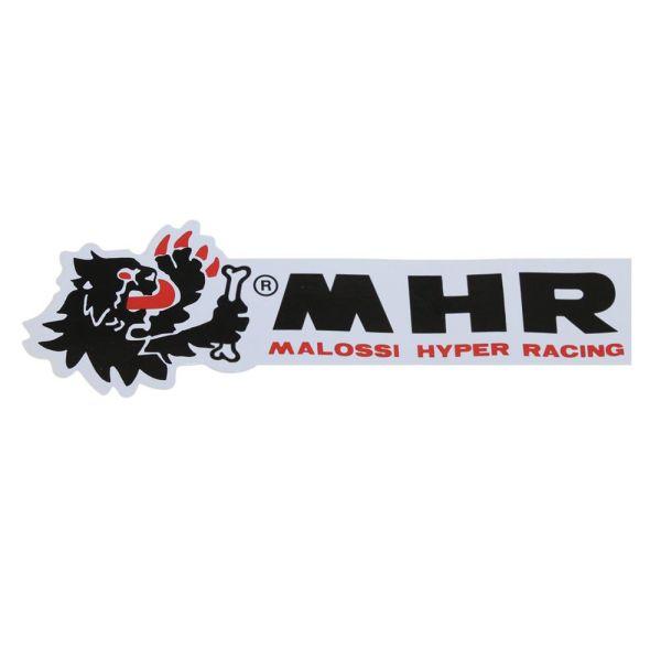 Aufkleber Malossi MHR Größe: L 145mm, B 25mm 1 Stück (161367)