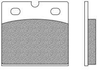 Bremsbeläge vorne organische Version Typ FD.0013 für BMW K 100, K 75, R 100, R 80, R 65  Ducati 1000 (700013)