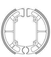 Bremsbacken NewFren Typ GF.0252 Piaggio TPH, Sfera, ZIP SSL25 hinten (800252)