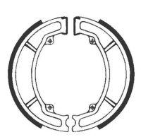 Bremsbacken für Trommelbremse EBC mit Federn Typ Y506 (681048)