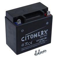 Gel-Batterie CIT12N7-3B, 12V 7Ah +Pol rechts, 12N7-3B DIN 50712 (160826)