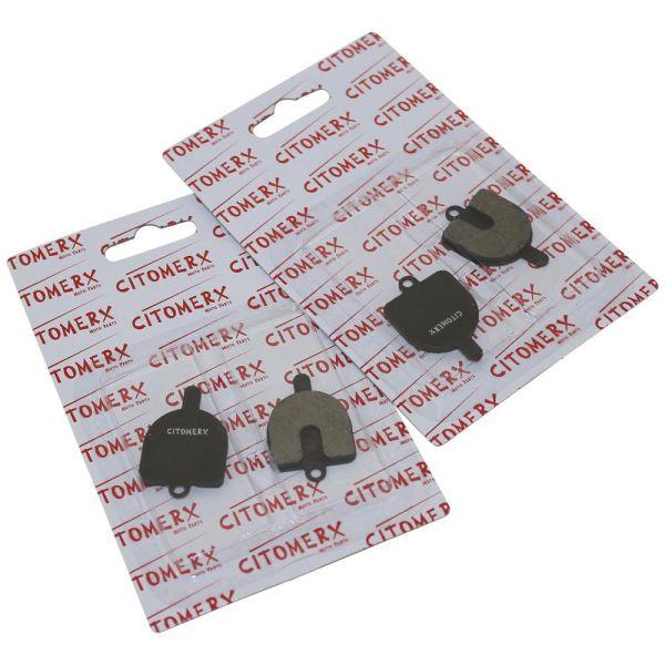2 paar bremsbel ge bremskl tze cmx f r rst da bremsanlage. Black Bedroom Furniture Sets. Home Design Ideas