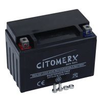 Batterie YTX9-BS, YT9-BS, YB9L-BS Motorradbatterie wartungsfrei 12V 9AH (127505)