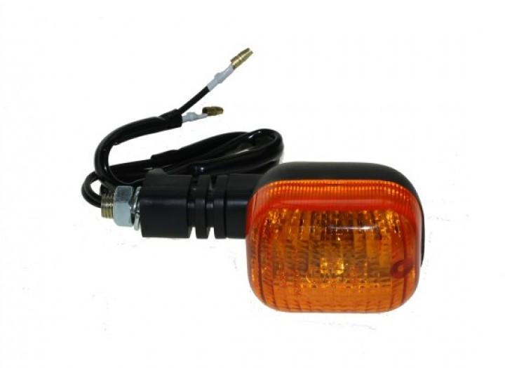 universal blinker f r motorr der mit e nummer glas orange. Black Bedroom Furniture Sets. Home Design Ideas